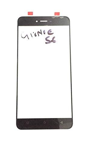 Front Screen Outer Upper Touch Glass Lens Panel for Gionee s6 Black (Note:- This is not a Screen Guard)