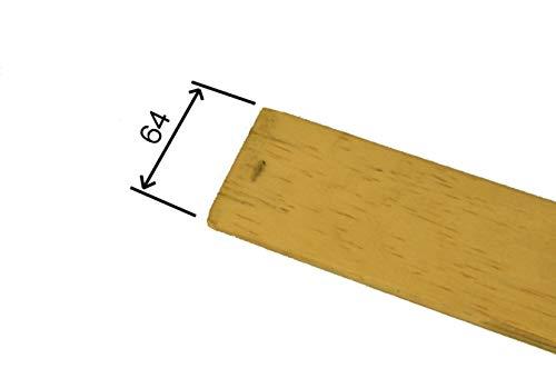 RETI GRITTI 13 Listelli Curvati in Legno di Faggio - Ricambio per Doga – 6,4 X 77,6 X 0,8 Cm (Kit 13 Pz)