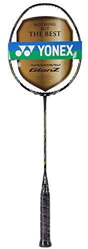 Yonex Nanoray Glanz Badminton Racquet (Black)