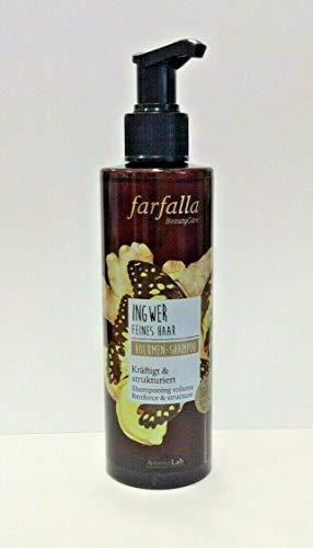 Farfalla Ingwer Volumen Shampoo für feines Haar 200 ml