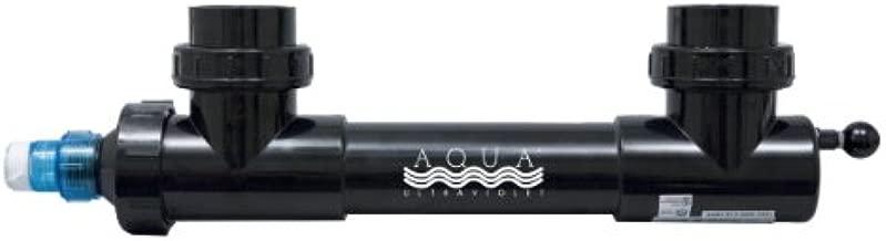 Aqua Ultraviolet AAV00035 25-watt UV Sterilizer with Wiper for Aquarium, 2-Inch, Black