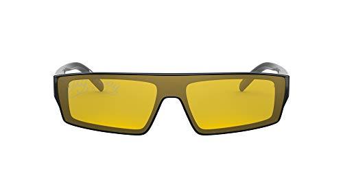 Arnette Gafas de Sol SKYE AN 4268 POST MALONE BLACK/YELLOW GOLD 34/13/140 hombre