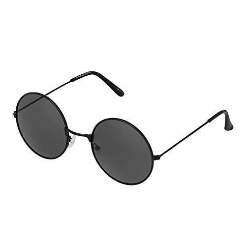 Ultra Schwarzer Rahmen Schwarze Gläser John Lennon Stile Erwachsene Retro Rund Sonnenbrille Männer Frauen UV400 Klassische Brillen Unisex