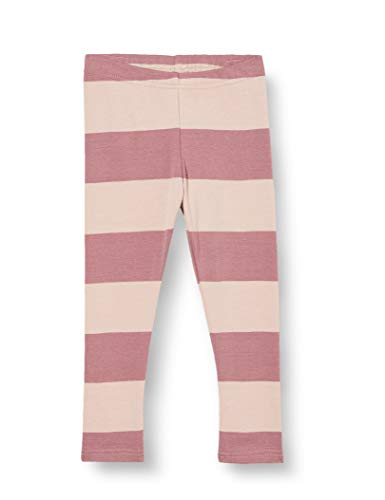 Fred's World by Green Cotton Baby-Girls Stripe Leggings, Shadow, 92