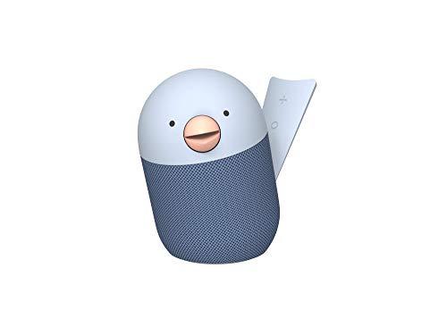 Libratone Bird tragbarer Bluetooth Lautsprecher (10 h Akku, Bluetooth 5.0, Freisprecheinrichtung, magnetischer Lautsprecherboden) - blau
