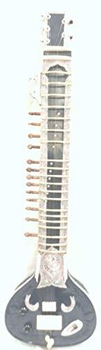 Indische Handarbeit, elektrisch, Sitar, Shri, Ravi, Shankar-Stil, aus Holz, frei von Saiten und Mizrab