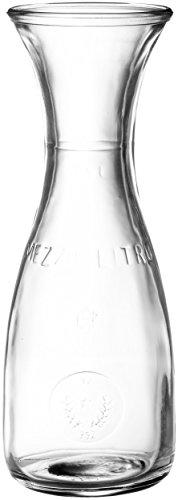 Bormioli Rocco Misura Jarra de vino, 8.5 Fluid_Ounces, Vidrio, transparente
