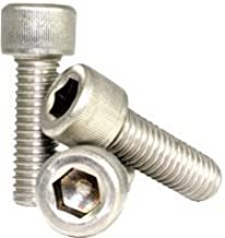 Hex Screw - Allen Screw - Socket Head Cap Screw - Stainless Steel (18-8) - #8-32 x 2-1/2