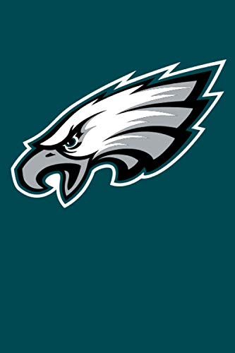 Philadelphia Eagles Notebook: Minimalist Composition Book | 100 pages | 6