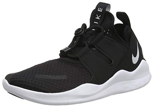 Nike Men's Free Rn Commuter 2018 Competition Running Shoes, Black (Black/White 001), 7.5 UK