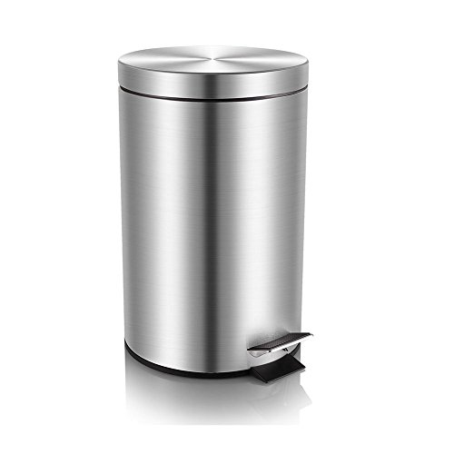 small wastebasket with lid - 9