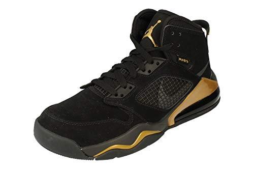 Nike Air Jordan Mars 270 Herren Basketball Trainers Cd7070 Sneakers Schuhe, Schwarz - Nero Antracite Metallico Oro 007 - Größe: 41 EU