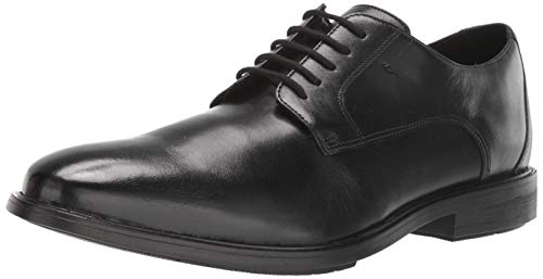 Bostonian Men's Hampshire Low Oxford, Black Leather, 130 M US