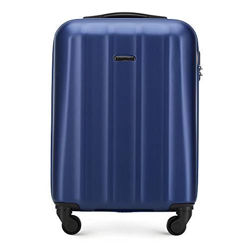 WITTCHEN Koffer – Set of 3 | hartschalen, Material: polycarbonat | hochwertiger und Stabiler | Dunkelblau | Verschiedene Größen