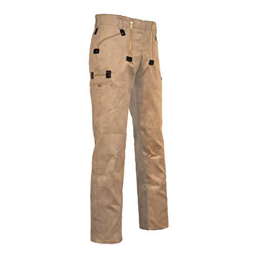 EIKO Zunfthose Trenkercord mit geradem Bein, Größe:52;Farbe:beige