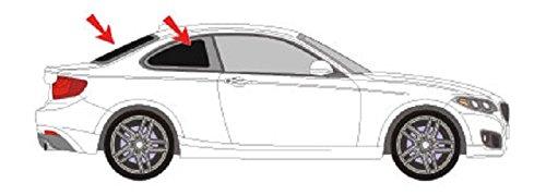 Solarplexius Sonnenschutz Autosonnenschutz Scheibentönung Sonnenschutzfolie 2 Coupe F22 Bj. ab 14