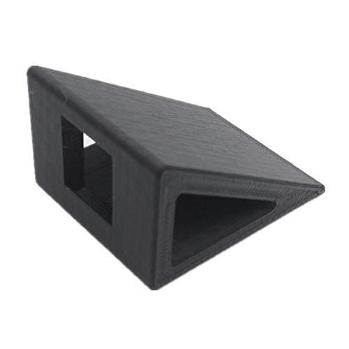 LijDD Utilidades Mobius RunCam 2 Titular de la cámara Impresora 3D 30 Grados PLA para RC Drone FPV Racing. Piezas de Herramientas (Color : Black)