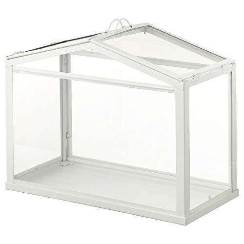 2er Set IKEA SOCKER Gewächshaus 45x22x35cm weiß