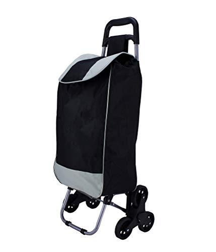 BigDean Einkaufstrolly Handwagen Treppensteiger - Einkaufswagen - Einkaufsroller - Rolltasche