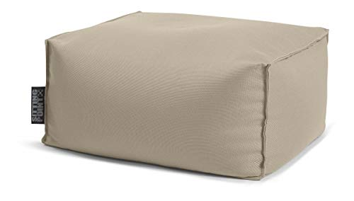SITTING POINT only by MAGMA Sitzsack Korfu ROLL Taupe outdoorgeeignet