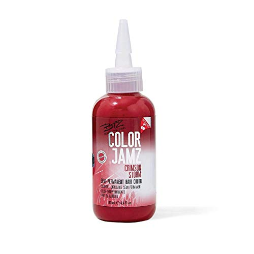Beyond the Zone Crimson Storm Semi Permanent Hair Color Crimson Storm