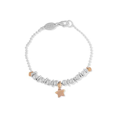 Pulsera Dodo Mariani Estrella Panino de plata y oro