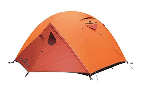 Ferrino Lhotse 3, Tenda Igloo Arancione, 3 Persone