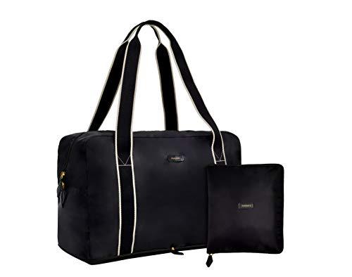 Paravel Faltbare Reisetasche | Derby schwarz | leichte Tragetasche