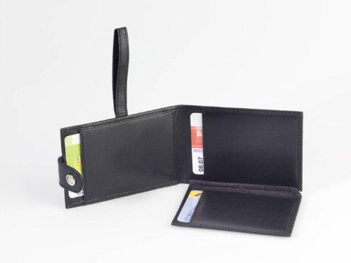 Heim & Büro Chevirex CC-Protect Kreditkartenetui, Bargeldetui, Rind Anilinleder