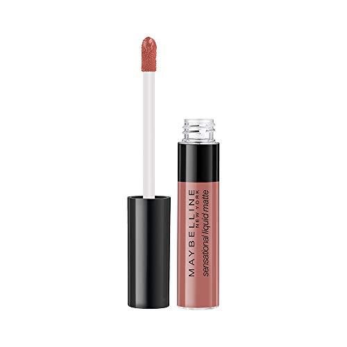 Maybelline New York Sensational Liquid Matte Lipstick 09, Truly Mlbb, 7G.