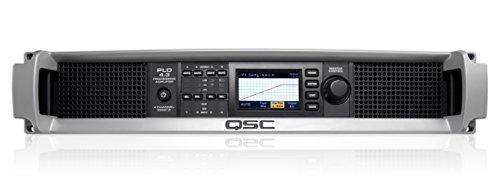 QSC PLD 4.3 1400 Watt Four Channel Power Amplifier