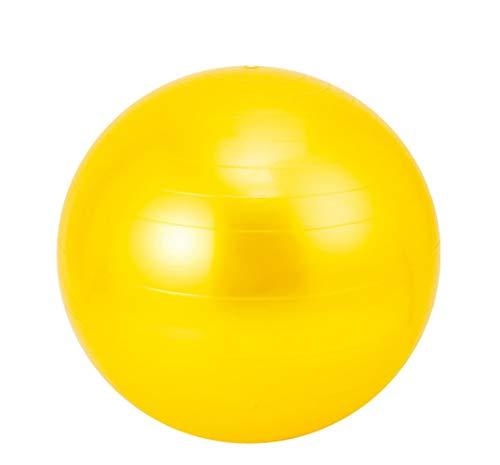 LYzpf Pelota de Ejercicios Bola Gimnasia Asiento Pelota de Gimnasia Deportes Pelotas Ejercicio Aparatos Accesorios para Yoga Equilibrio Fitness Entrenamiento,Yellow