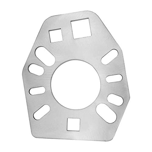 스테인리스 스틸 피니언 요크 렌치 툴 요크 액슬 플랜지의 다양한 스타일을 위한 SUIT 대부분의 소켓 엑스트라 1   2 홀을 위한 적합성 너트 플랜지를 느슨하게 하기에 적합한 스트렝스 풀러