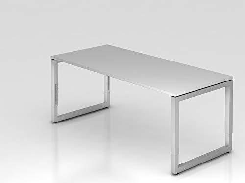 HAMMERBACHER VRS19/5 Schreibtisch 180x80 cm L.grau