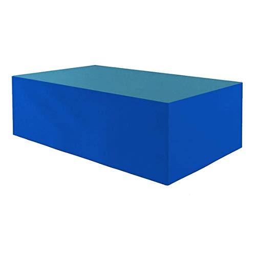 Planesium Premium - Funda protectora para mesa de jardín (575 g/metro lineal, impermeable, transpirable, 150 x 90 x 75 cm)