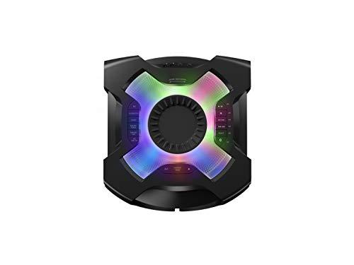 Panasonic SC-TMAX40 Party-/ Karaoke Lautsprecher (Bluetooth, Party Musikanlage, Lichteffekte, Lautsprecher Bass, 1200W) schwarz