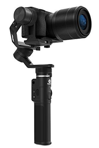 FeiyuTech FE-2176 - Stabilizzatore a 3 assi G6 MAX per smartphone, GoPro, fotocamera compatta e ibrida, colore: Nero