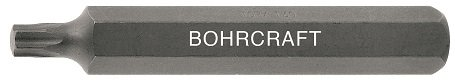 Bohrcraft Torx Bits 10 mm Hexagonal Shank TX 15 x 75 mm/Box, Pack of 5, 66141501575