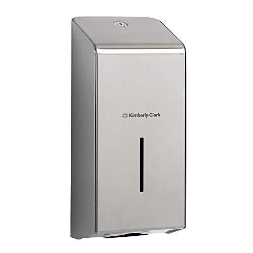 KIMBERLY-CLARK Professional 8972 Dispensador de papel higiénico interplegado, Acero inoxidable