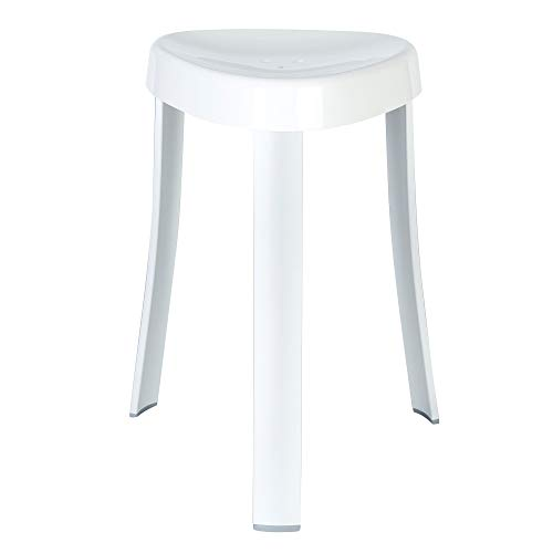 """Better Living Products Better Living Spa Seat, Dimensions (w x d x h): 15.25"""" x 15.25"""" x 18"""" Weight: 2.5 lbs, White"""
