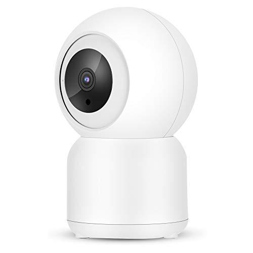 LXYPLM Cámara Vigilancia Cámara Inteligente 1080p Cámara Inalámbrica Inteligente WiFi CCTV Inicio Security Monitor Trabajo Vigilancia Inicio 110-240V MOI Enchufe