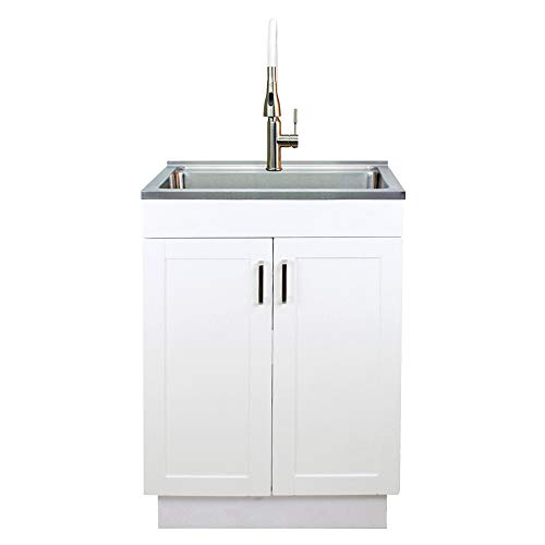 Transolid TC-2420-WC 24-in. All-in-One Laundry/Utility Sink