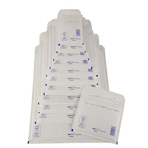 Preisvergleich Produktbild MAILmedia 411140 Luftpolster-Versandtaschen,  Typ d14,  weiß,  14 g