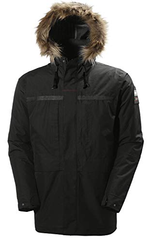 Helly-Hansen Men's Coastal 2 Parka, Black, XX-Large