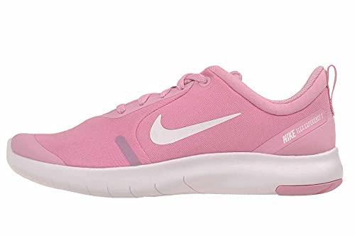 Nike Girls Flex Experience RN 8 GS Gym Running Shoes Pink 6 Medium (B,M) Big Kid