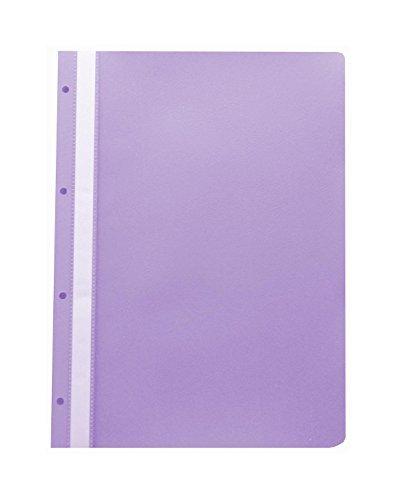 20 Ablage-Schnellhefter / Archiv-Hefter mit Lochung zum Abheften /Farbe: violett