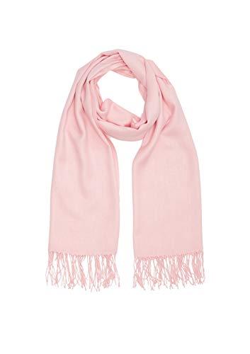 s.Oliver Damen 39.912.91.6426 Mütze, Schal & Handschuh-Set, Rosa (Purple/Pink 4230), One Size (Herstellergröße: 1)