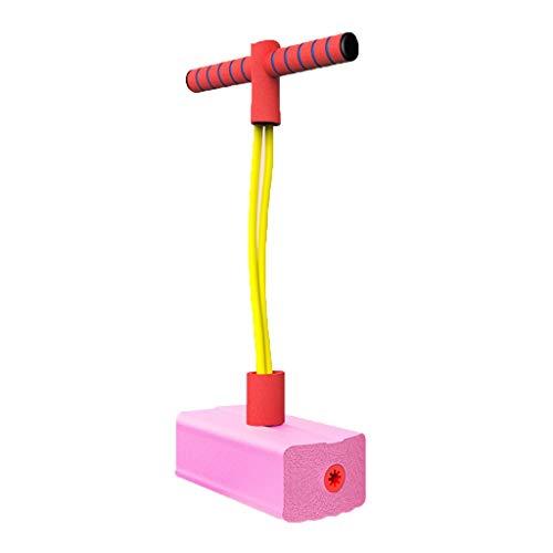 WENJIA Pogo Stick Pogos Saltarines Pogo Stick para Niños Childrens Fun Safe Soft Pogo Stick,Saludable Y Divertido,Ayuda A Entrenar El Equilibrio (Color : Pink Upgrade)