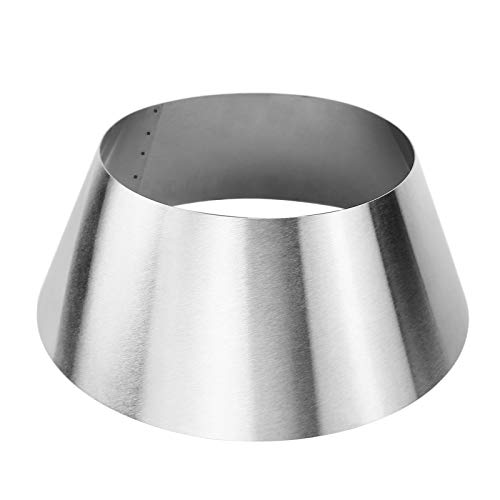 Grisun BBQ Whirlpool for Kettle Grills Weber 22 26.75 Inches WSM Weber Smokey Mountain Charcoal Briquet Holders Stainless Steel BBQ Kettle Grill Accessories, Lump Charcoal Chimney