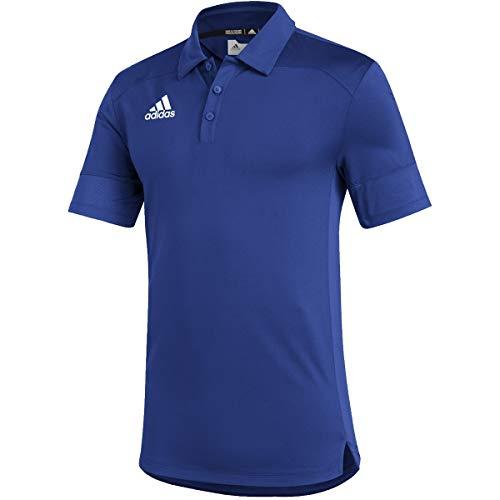 adidas Under The Lights Coaches Polo - Men's Multi-Sport 2XL Team Royal Blue/White